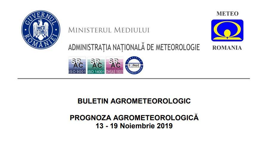 prognoza agrometeorologica