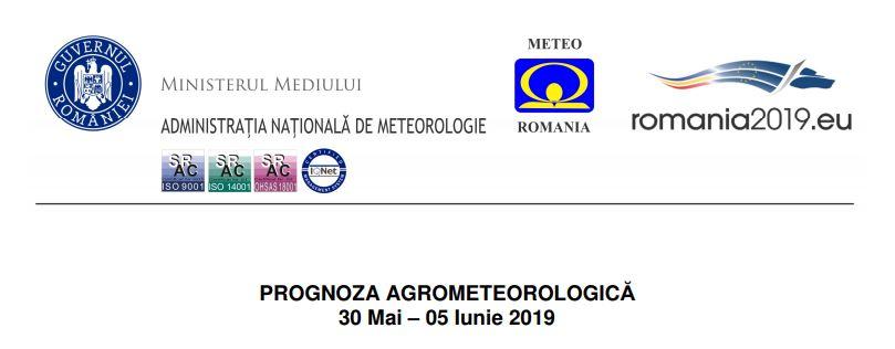 prognoza meteo agricultura