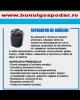 Separatoare de grasimi si de hidrocarburi