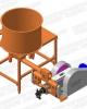 Agrobiobrichet - Presa brichetat BT-070-800Max brichete 70mm