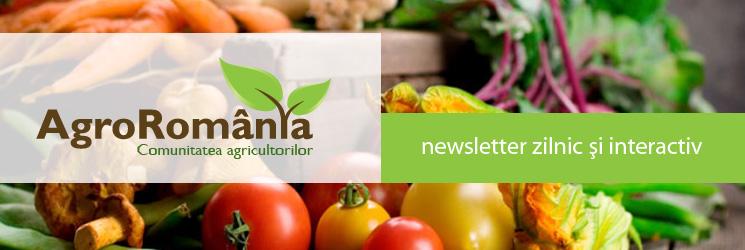Newsletter AGROROMANIA saptamanal si interactiv