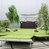 Design: rulota transformata in gradina artificiala
