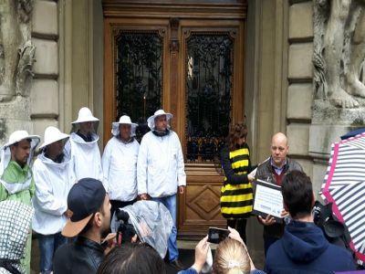 apicultorii-au-protestat-in-fata-ministerului-agriculturii