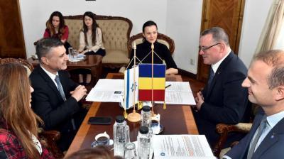 Israel sprijina Romania la capitolul irigatii si stoparea desertificarii