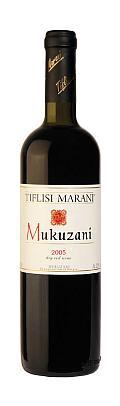 Vinuri georgiene. Mukuzani, vin roşu produs de Tfilisi Marani